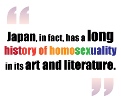 Homosociality and homosexuality in japan